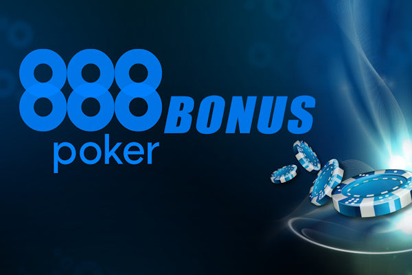 88$ from 888 Poker