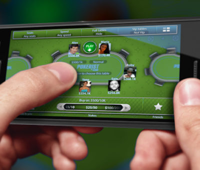 Android poker client